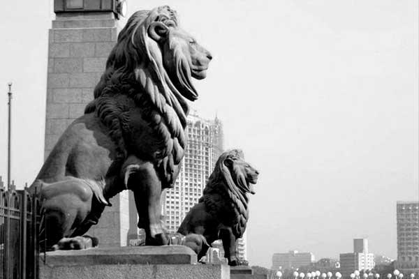 скульптуры львов Каир
